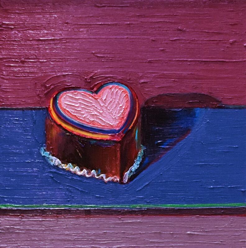 Wayne Thiebaud, Dark Heart Cake, Estimate: 1,800,000 - 2,500,000 USD