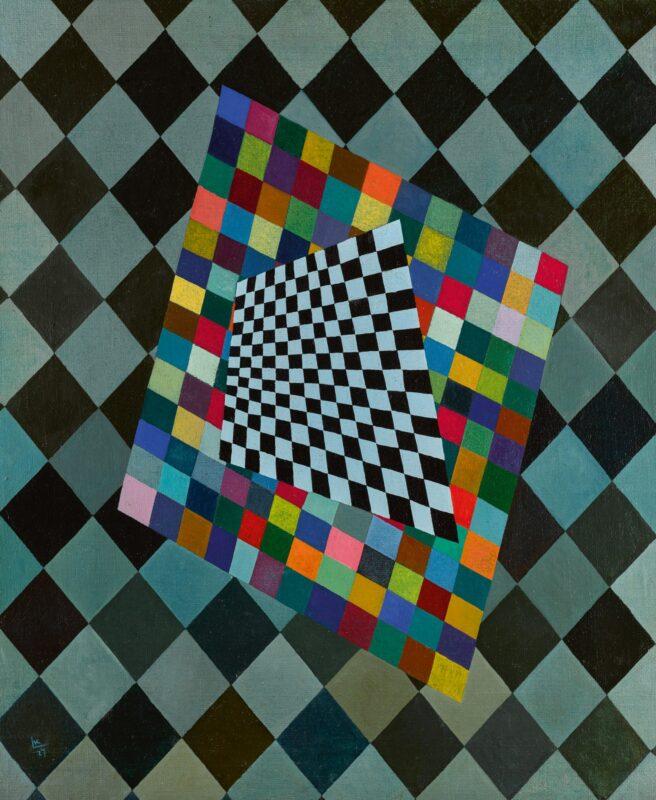 Wassily Kandinsky, Quadrat (Square). Estimate: 1,500,000 - 2,000,000 GBP