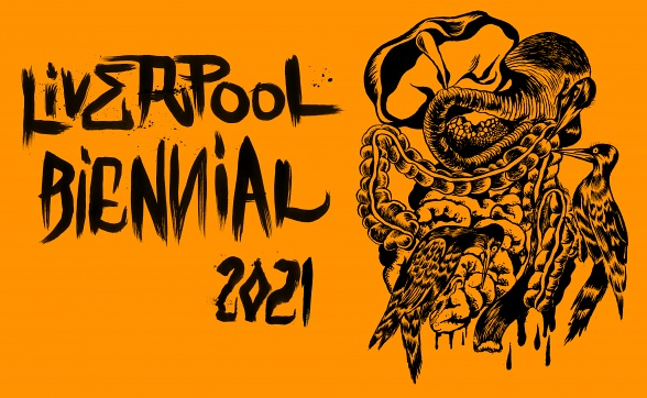 Il logo di Liverpool Biennial 2021