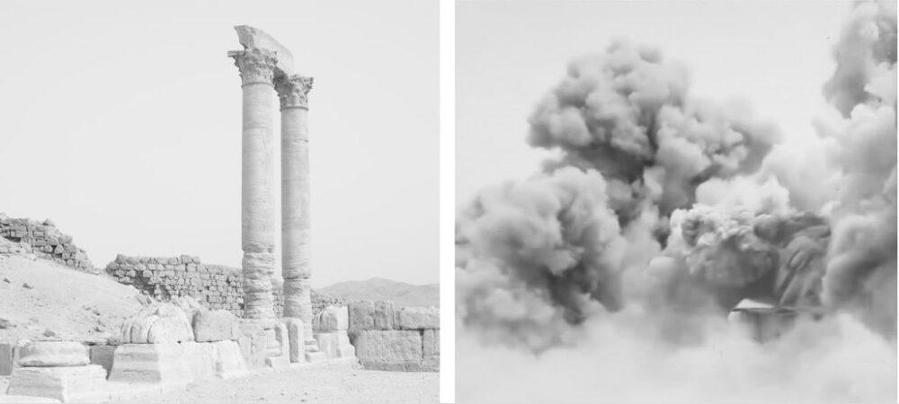 Le nuvole, fine art giclée inkjet print on Photo Rag cotton paper, 50x50 cm, 2019