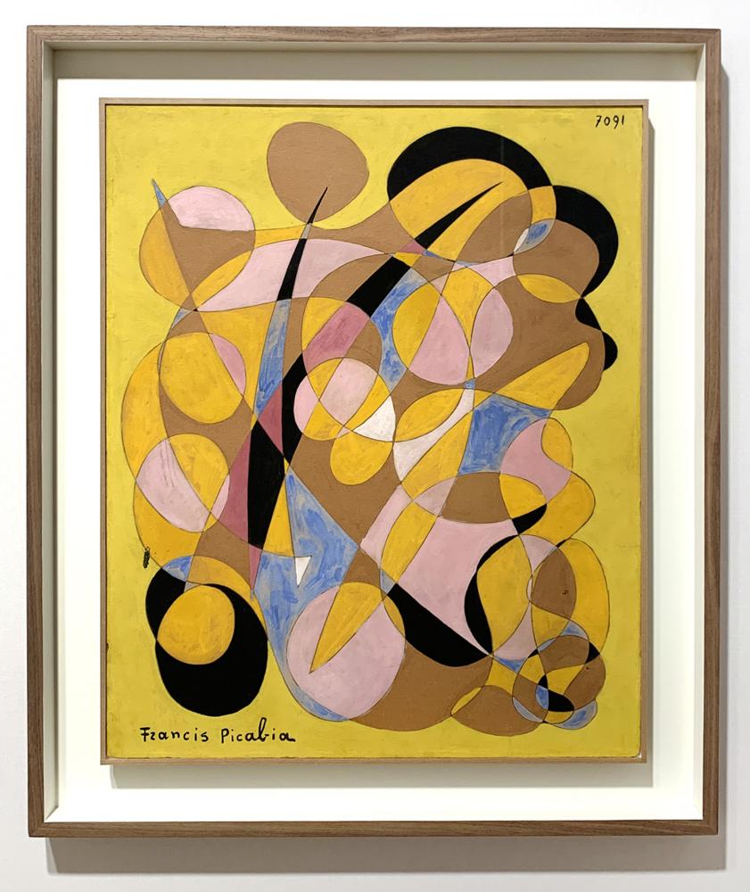 PICABIA Francis 1938 7091 Huile, gouache et crayon sur carton 61 x 50 cm