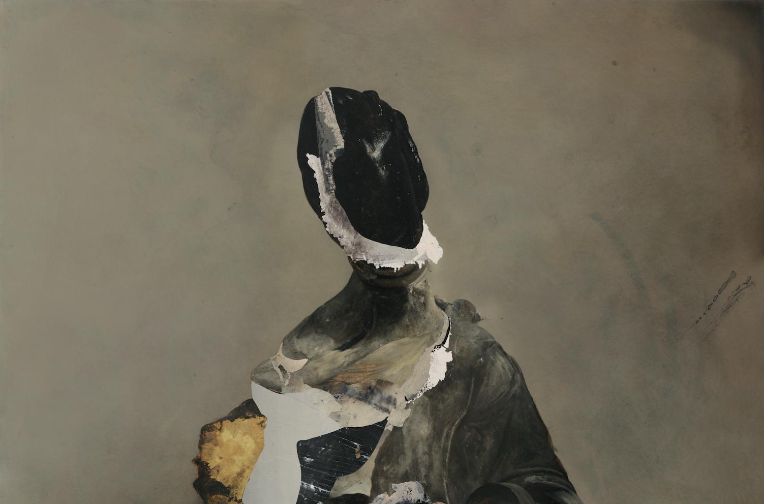 Nicola Samorì fustiga le immagini. A Bologna le prima antologica dell'artista