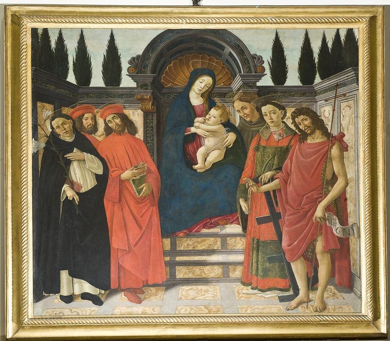 Alla Galleria dell'Accademia di Firenze i dipinti prendono vita. Online il nuovo ciclo di video pillole