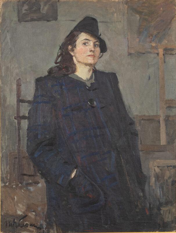 Tatiana Nilovna Yablonskaya, Autoritratto. Lotto 83, stima 2.600 – 3.200 euro