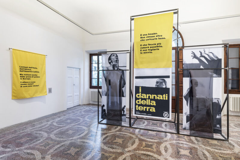 Installation view, Alessandra Ferrini: A Bomb to be Reloaded (Chapter 0), 2019. Photo by Leonardo Morfini, OKNO studio. Courtesy of Villa Romana
