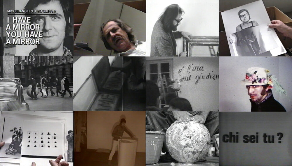 Michelangelo Pistoletto, I have a mirror you have a mirror, 1988 Un film di Castri Gianfranco e Barberi Marco di Castri Durata : 30'