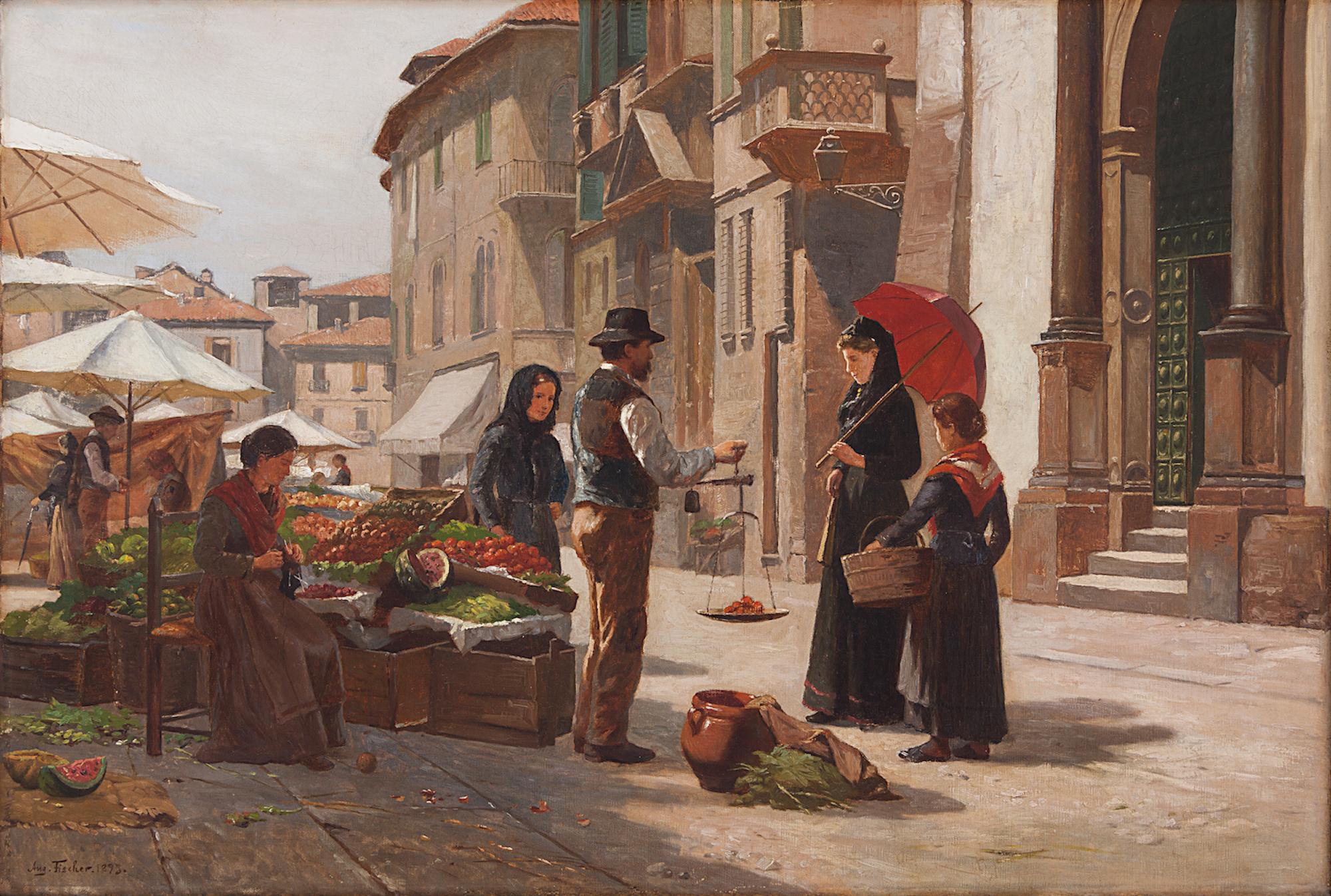 Dipinti del XIX e XX secolo. Accurata selezione in vendita da Santa Giulia