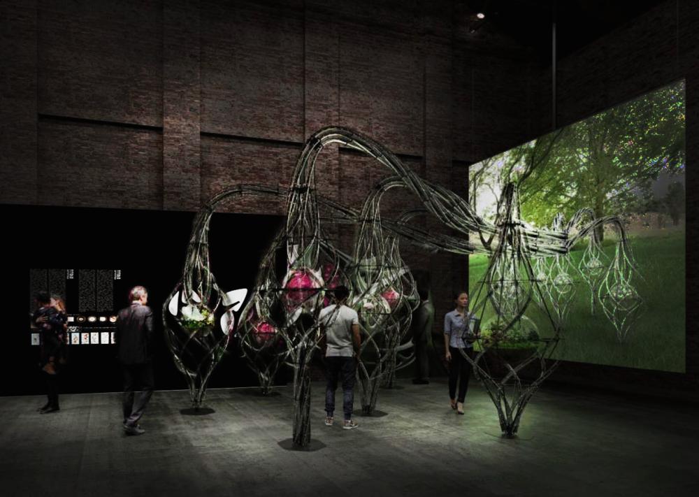 """Padiglione Italia. Installazione curatoriale """"Genoma"""""""