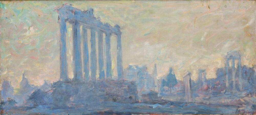 Mikhail Gordeevich Deregus, Le Rovine di Roma. Lotto 36, stima 1.800 – 2.200