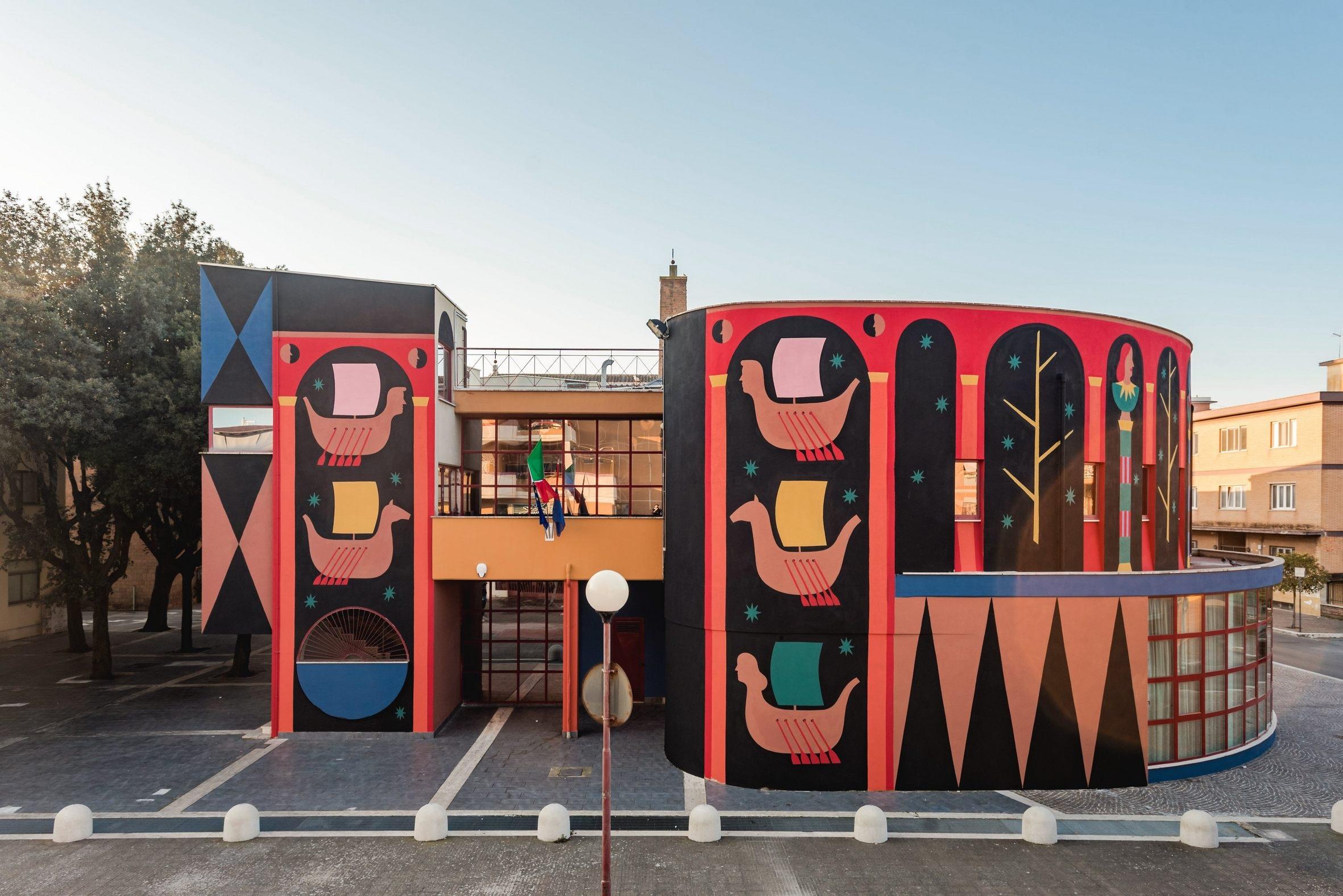 Sol Indiges. A Pomezia l'arte urbana celebra il mito di Enea in chiave contemporanea