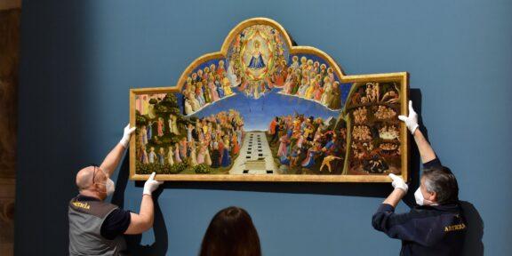 Beato Angelico alla mostra su Dante a Forlì