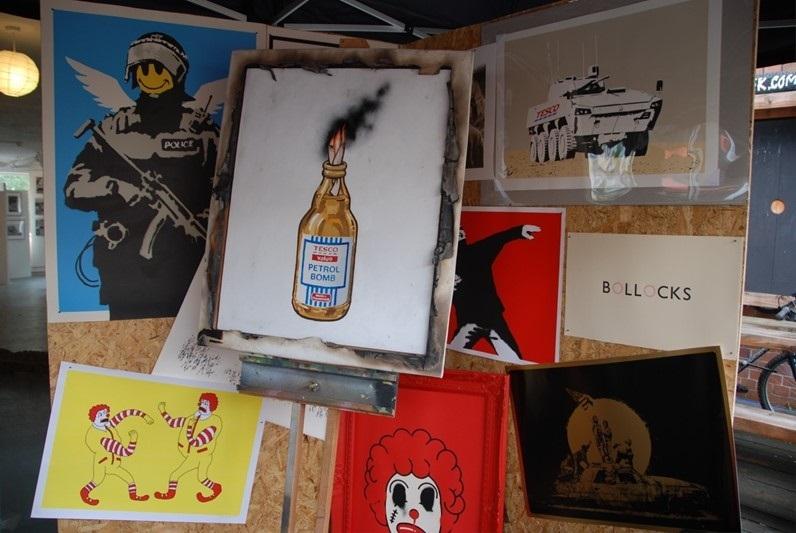 Bristol Anarchist Book Fair , 2011, Photo by Butterfly Art News