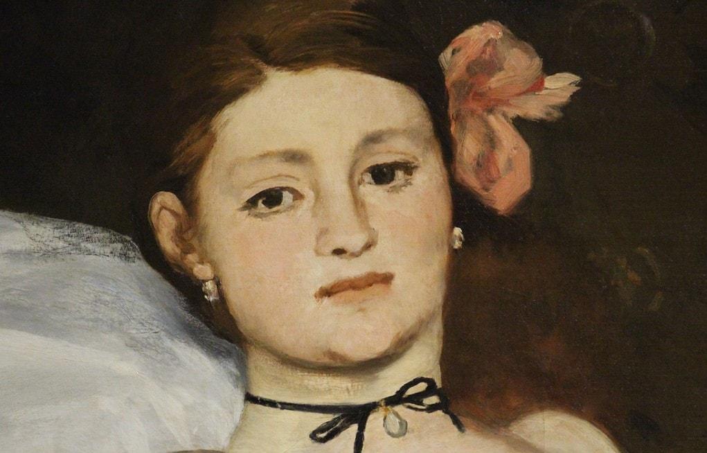 Si prega di non toccare: una rilettura sovversiva dell'Olympia di Manet