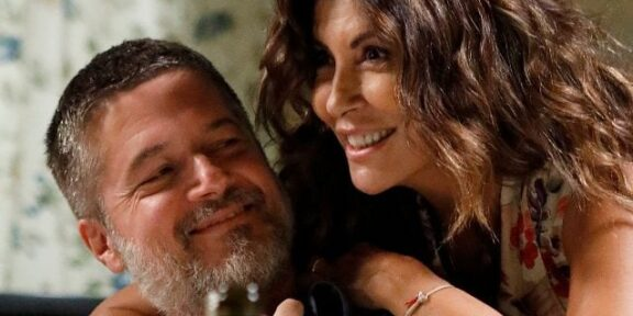 Ettore Bassi e Sabrina Ferilli in Svegliati amore mio, Canale5