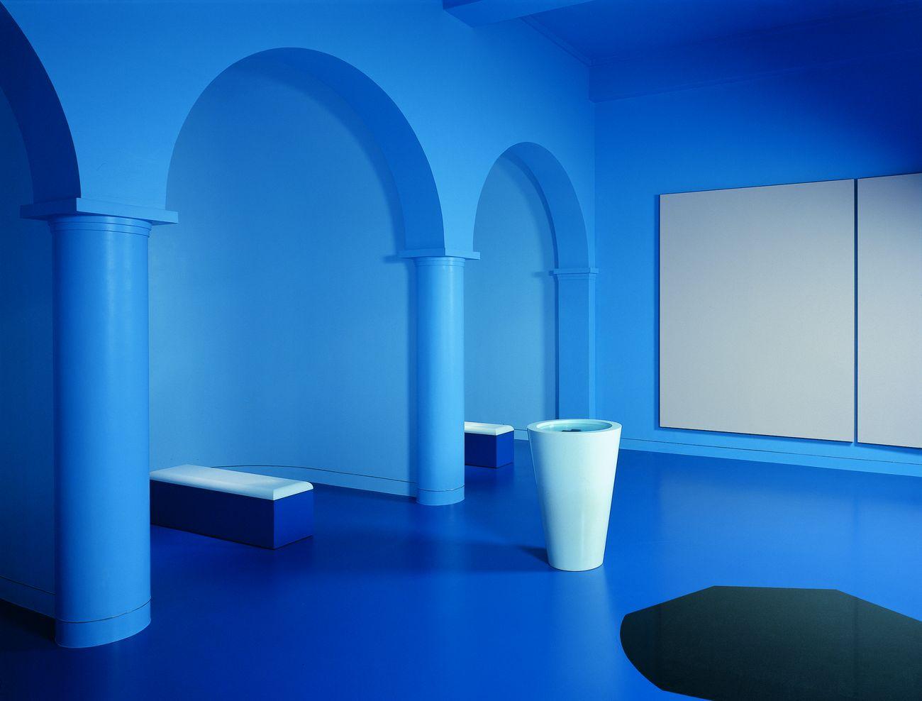 La salle des départs di Ettore Spalletti: un obitorio trasformato in opera d'arte