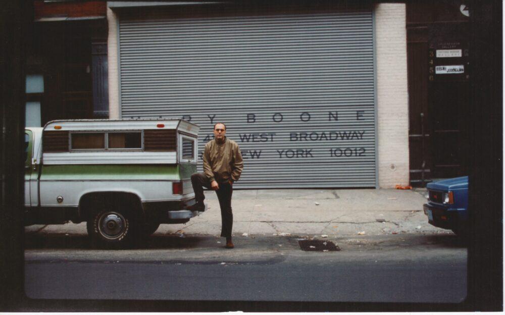 Bruno Ceccobelli a New York nel 1984