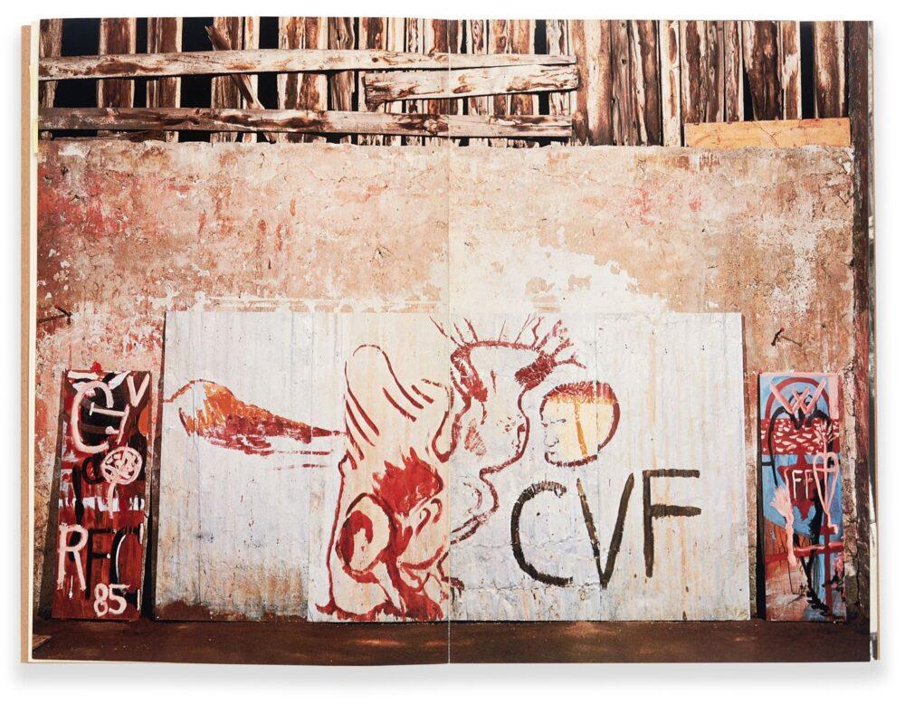Opere di Schnabel fatte a Roma nel 1985, presso Claudio Di Giambattista.