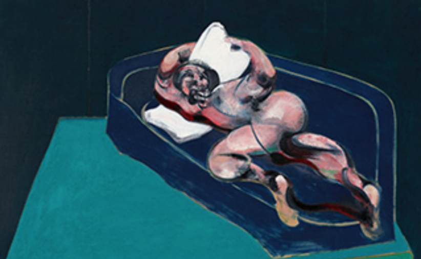 Francis Bacon, Figure in a Room, opera del 1962 nella collezione del presidente di Samsung (particolare)