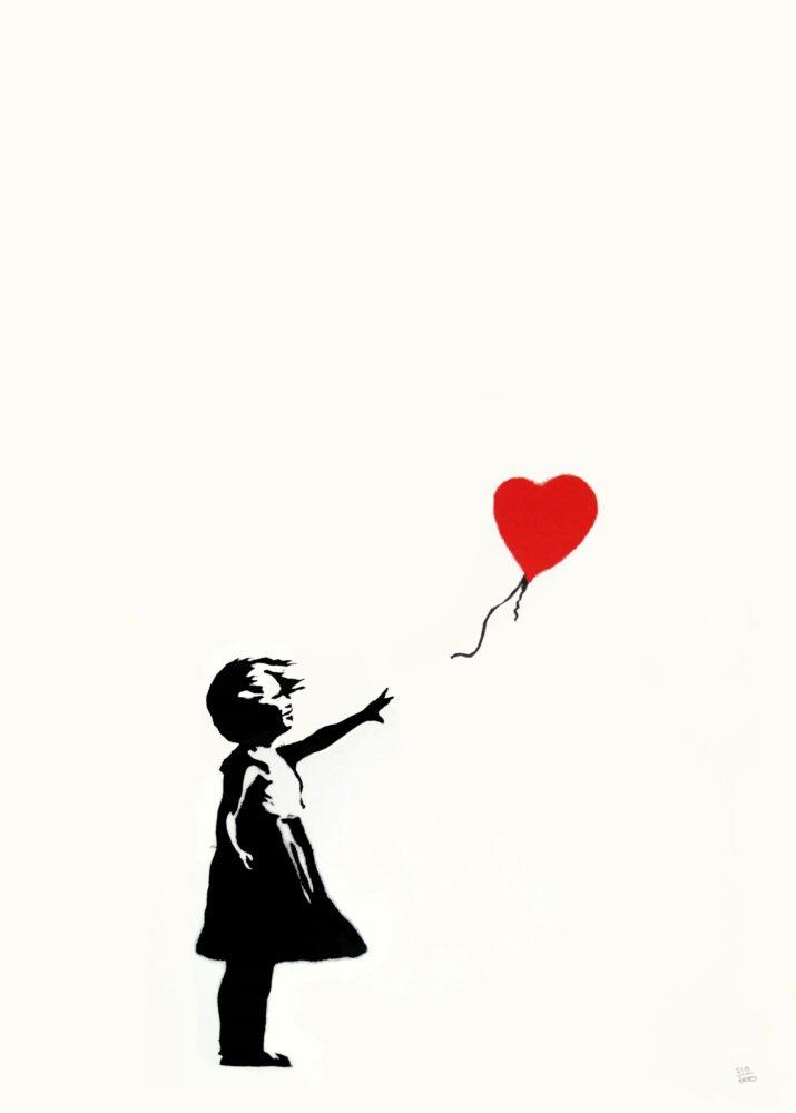 Girl With Balloon , Screenprint, 2004, Private Collectio