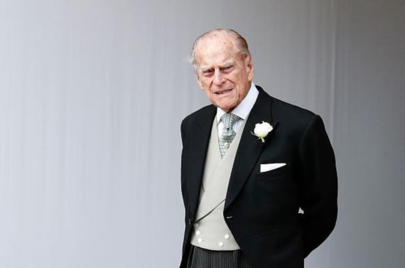 Il principe Filippo, duca di Edimburgo e marito della regina Elisabetta