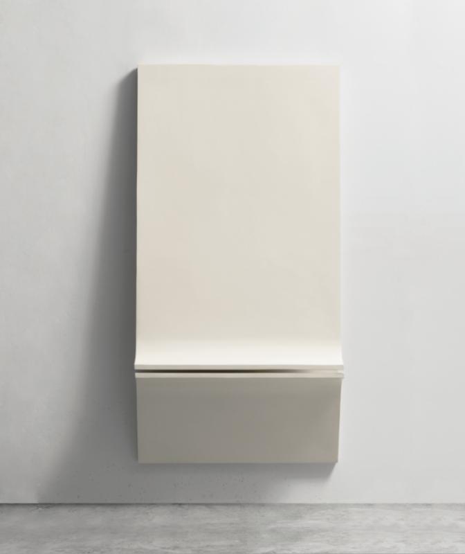 SANDRO DE ALEXANDRIS, 2TS-P1, 1967, resine poliestere, 160x80x30 cm