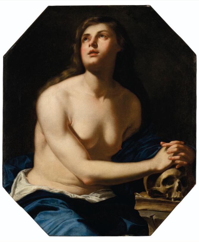 Artemisia Gentileschi, The Penitent Magdalene. CHRISTIE'S