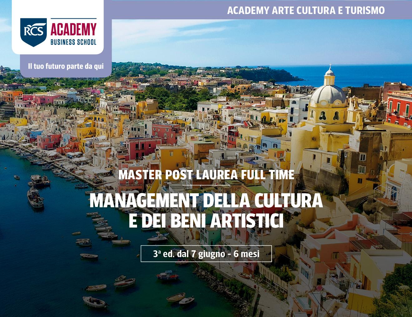 Lavorare nell'arte, valorizzare la cultura. A giugno inizia il master in Management della Cultura e dei Beni Artistici di Rcs Academy