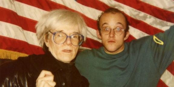 Keith Haring e Andy Warhol