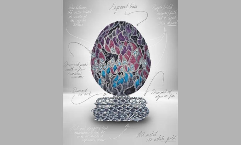 L'uovo Fabergè per il decimo anniversario de Il Trono di Spade