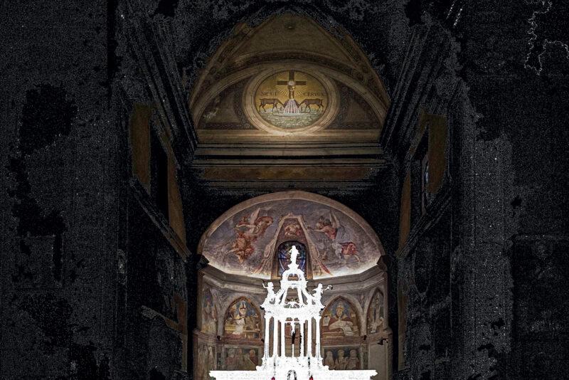 Assenza di Maurizio Gabbana - Battistero di Velate - VA