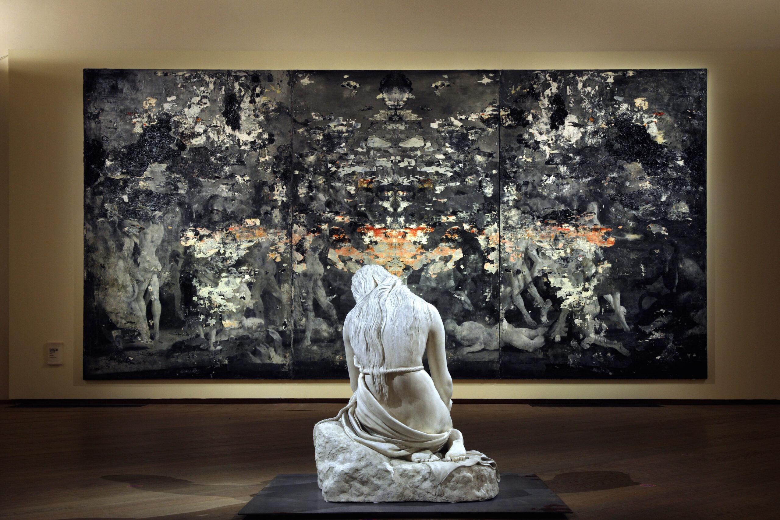 Gli Sfregi di Nicola Samorì a Bologna. Prime immagini della grande mostra a Palazzo Fava