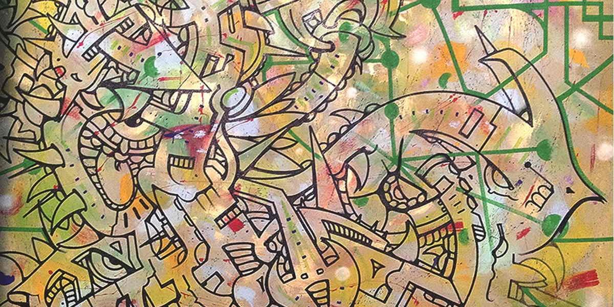 Il primo restauro nella storia di un'opera di Graffiti Writing