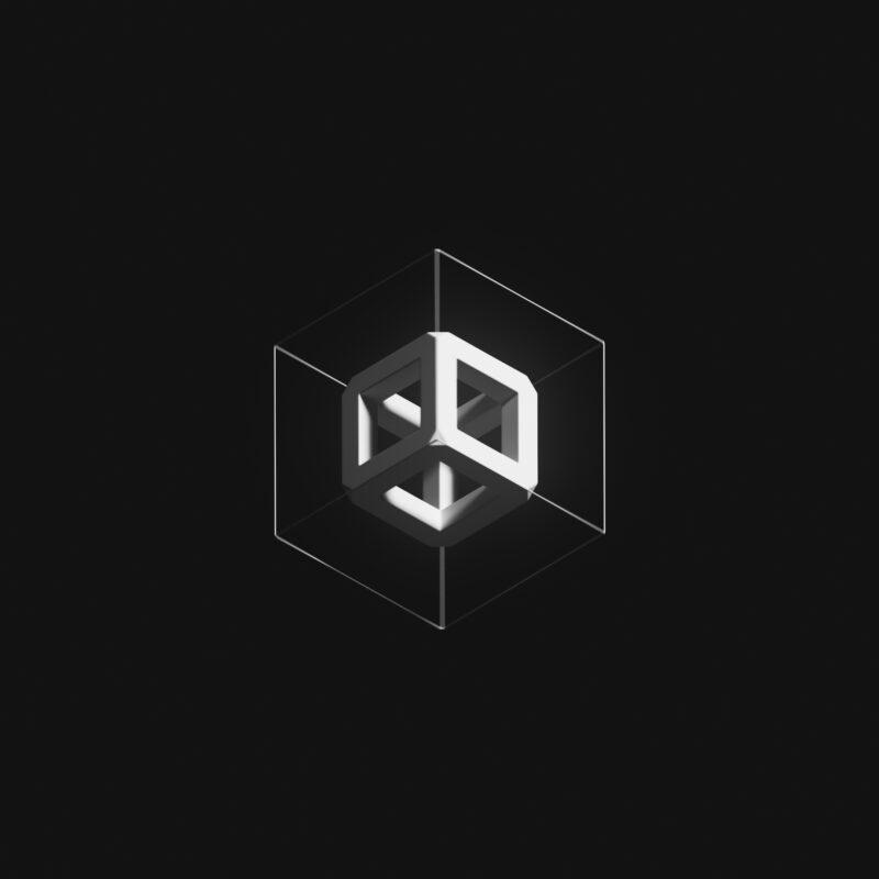 Pak - Fungible Open Edition, Single Cube (Courtesy Sotheby's & Pak)