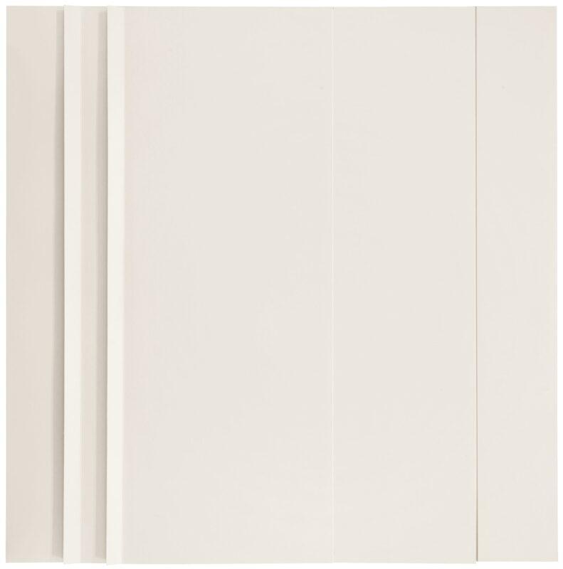SANDRO DE ALEXANDRIS, s.t.-sp 18, 1964, cartoncino piegato, 45,5x45,5 cm