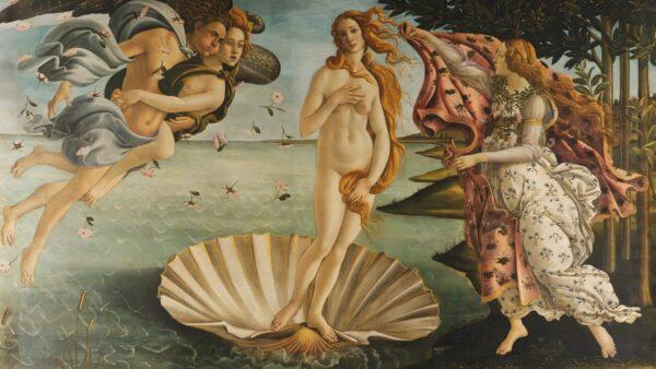 Sandro Botticelli, Nascita di Venere, Galleria degli Uffizi, Firenze