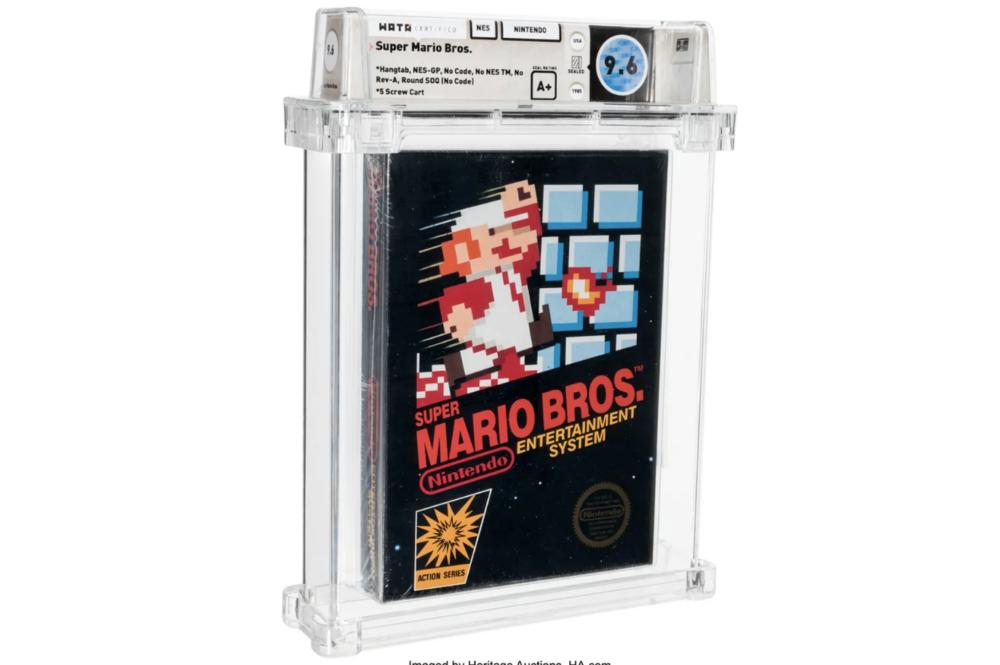 Super Mario Bros da record