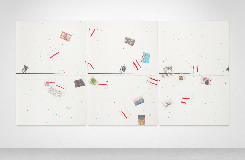 Arte moderna e contemporanea: un inedito trittico di Boetti in vendita da Mediartrade