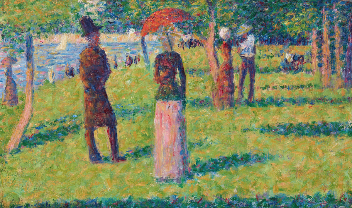 Atmosfere da La Grande Jatte. Due studi di Georges Seurat in asta da Christie's
