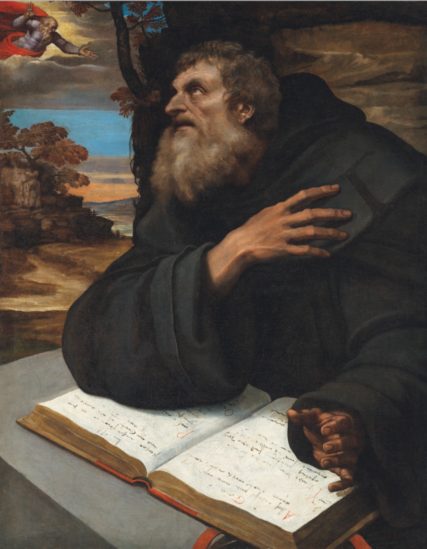 Sebastianio del Pimbio, The Vision of Saint Anthony Abbot, ca. 15th century. CHRISTIE'S