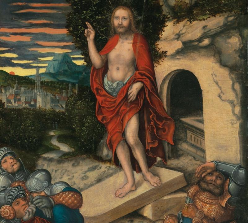 Lucas Cranach the Elder, The Resurrection, 1530. CHRISTIE'S