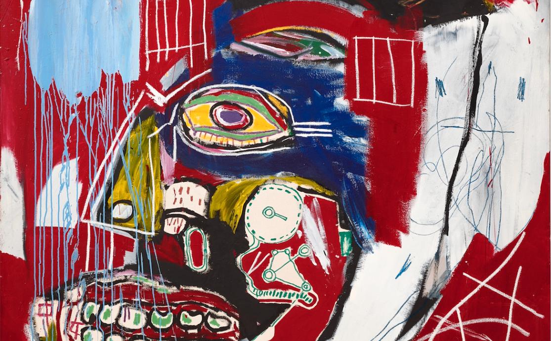 Christie's porta in asta un raro dipinto di Basquiat di proprietà del co-fondatore di Valentino