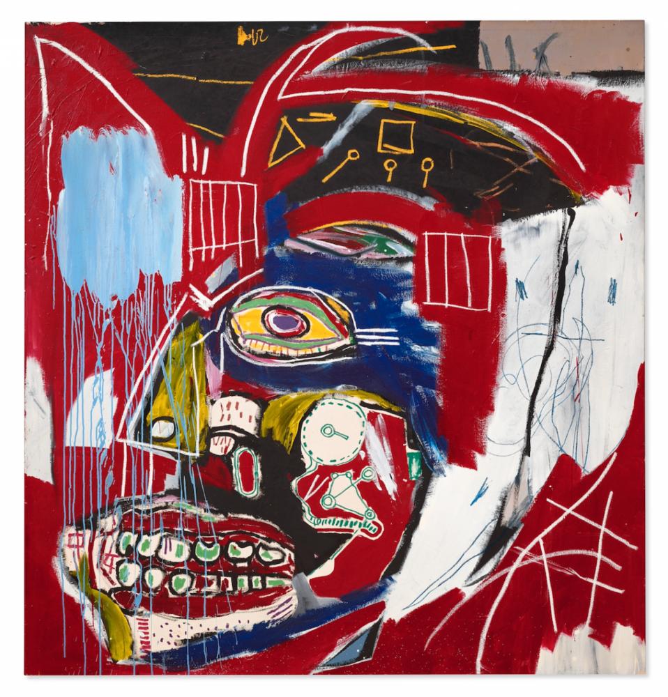 Jean-Michel Basquiat, In This Case From, 1983. CHRISTIE'S