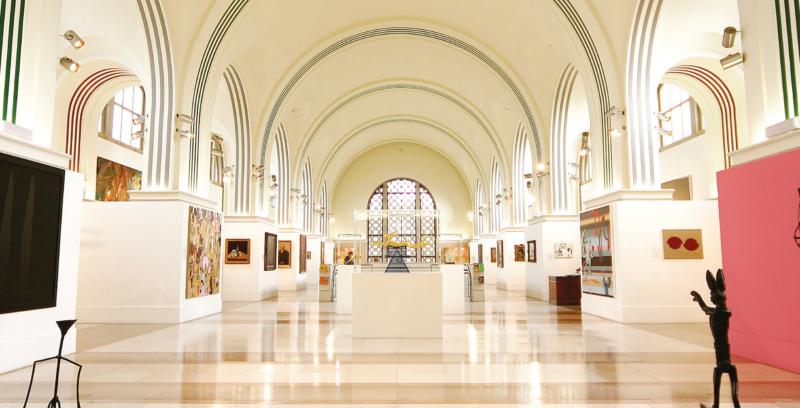 Hall principale, Southampton City Art Gallery