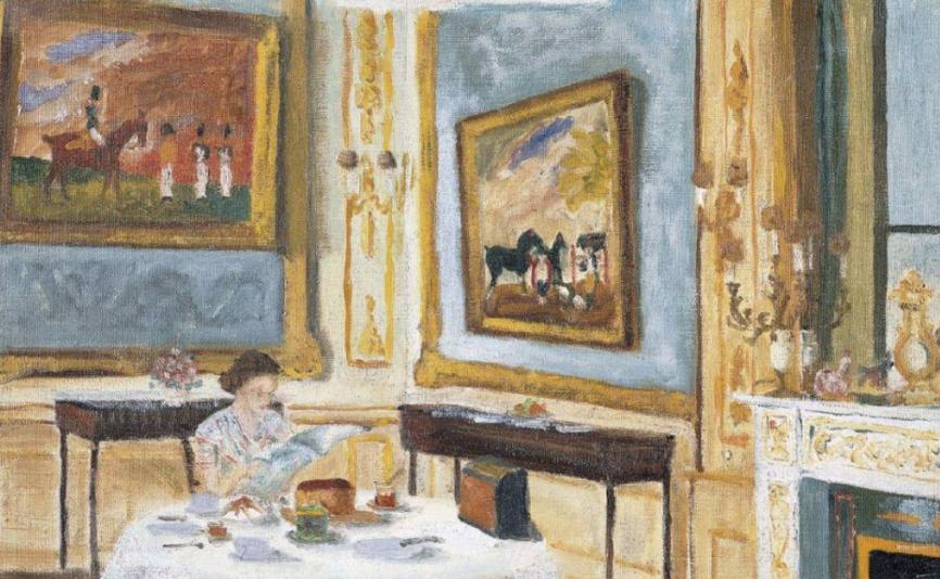 The Queen at Breakfast, dipinto del principe del 1965 (Courtesy of the Royal Collection Trust, particolare)