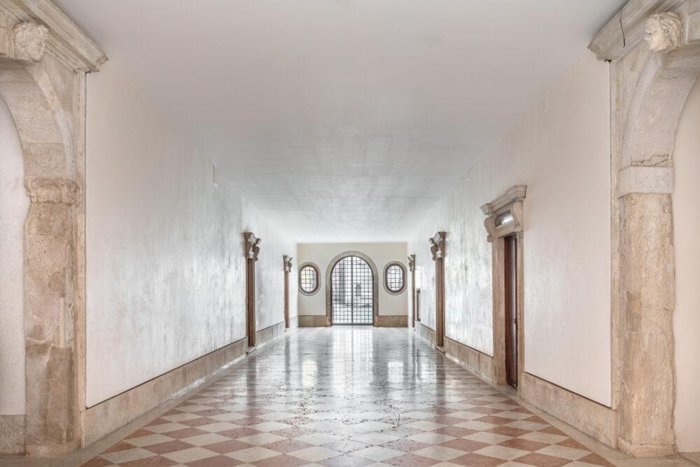 Androne di Palazzo Vendramin Grimani. ph Ugo Carmeni