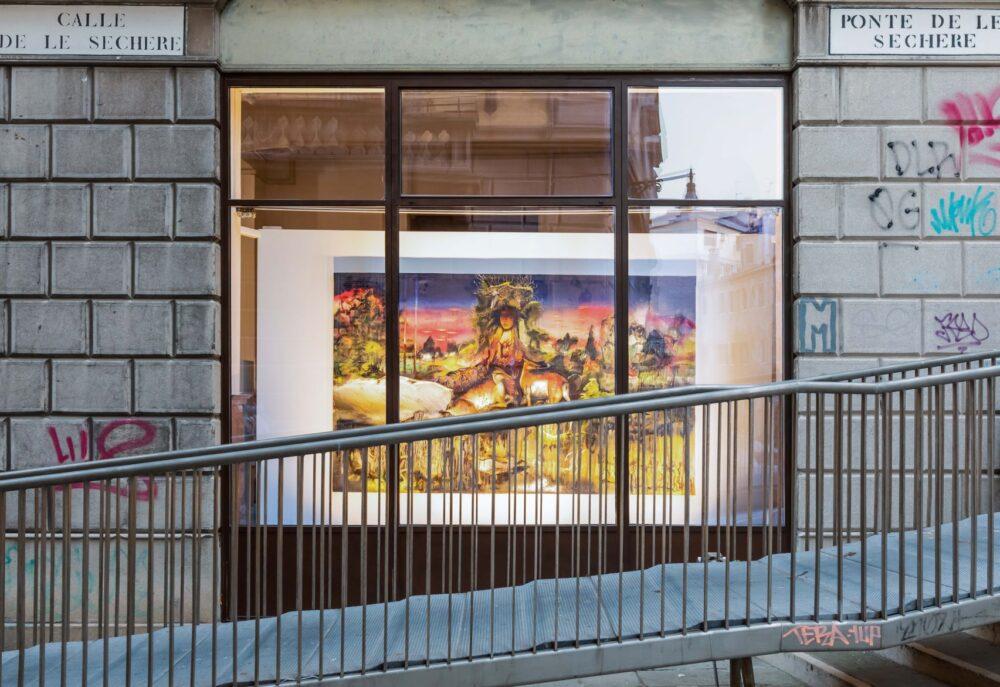 Io è un'altra, installation view (Chiara Calore), D3082, Venice, 2021, ph. Studio Mion
