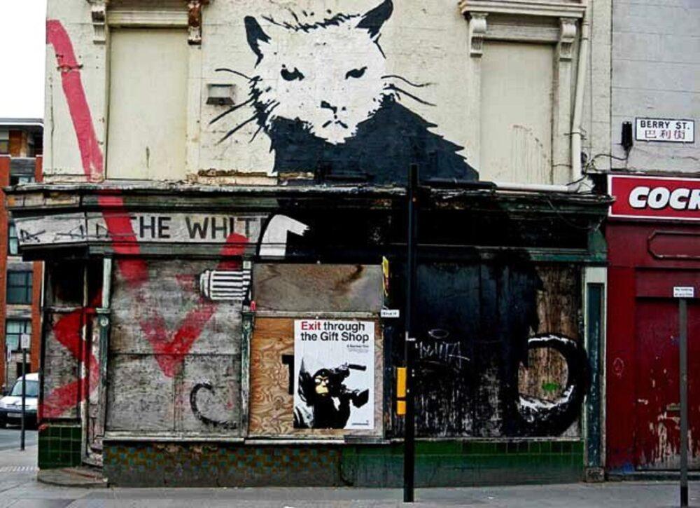 Banksy Liverpool Rat