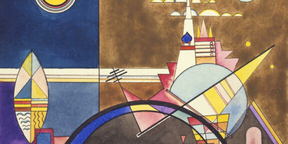 Vasilij Kandinskij, La grande porta (Nella capitale Kiev), 1928, Colonia, Theaterwissenschaftliche Sammlung der Universität