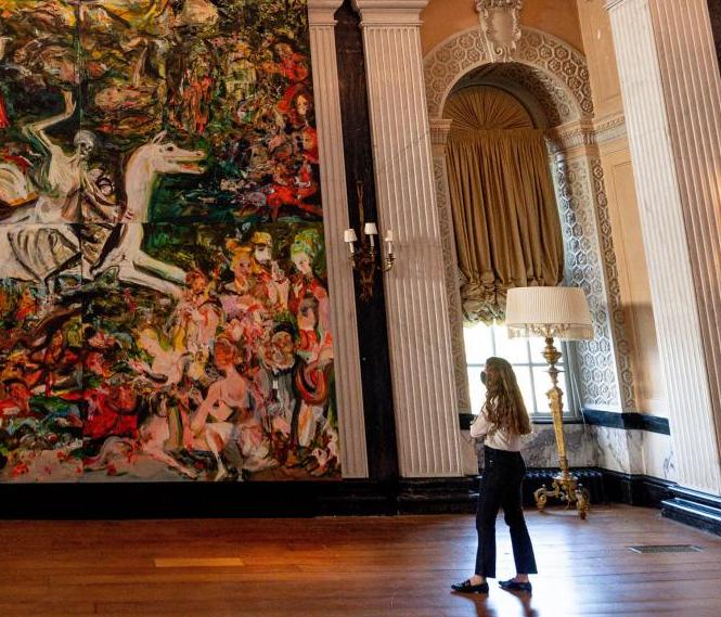 Magico connubio tra antico e contemporaneo: Cecily Brown al Blenheim Palace