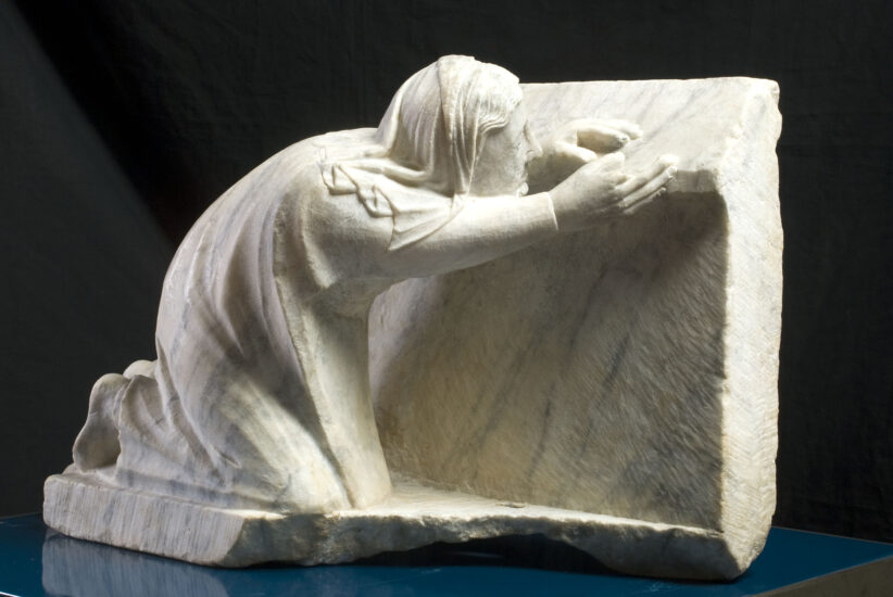 Arnolfo di Cambio Assetata, elemento della Fontana degli Assetati, 1277 – 1281